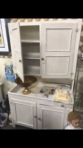 Antique Hutch with Dry Sink