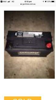 Challenge Battery car van Ute 4wd 4x4 near  new