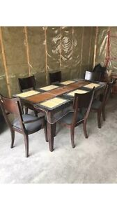 Dining Table/ Dresser and 3 piece bedroom set on sale