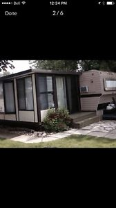 For sale or rent .. 2 bdrm trailer, Florida room and shed OWN