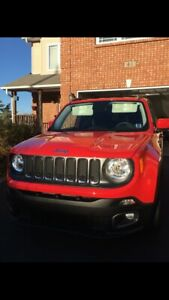 Red Jeep Renegade