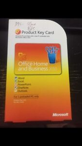 Microsoft Office Home And Business 2010 Product Key Card Genuine