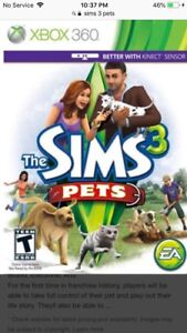 Looking for Sims 3 Pets for Xbox 360