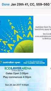 Australia open men's final ticket for sale Drummoyne Canada Bay Area Preview