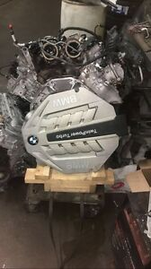 Bmw 750i awd complete engine