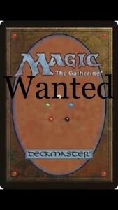 <~~ LOOKing for magic card collections mtg