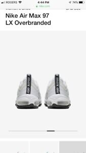 Nike Air MAx 97. LX overbranded