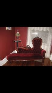 Searching for an antique fainting couch