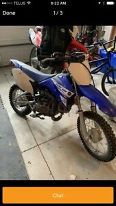 LOOKING FOR Yamaha TTR110 or Honda CRF110