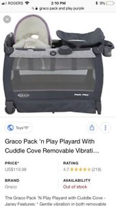 Graco pack and play play pen and seat