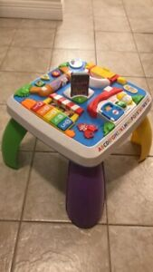 Fisher Price Laugh & Learn around the town learning table