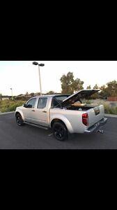 2014 Nissan Navara d40 st 4x4 manual 6sp 2.5dt Brookfield Melton Area Preview