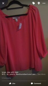 New with tags size large