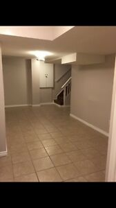 1 bedroom basement apartment for rent in Milton Derry & Jamesnow