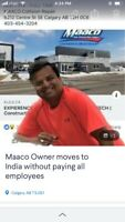 Kailash Chauhan leaves employers without work or pay