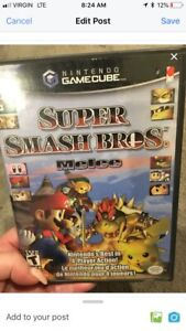 Super smash bros game cube
