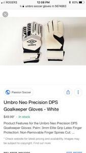 Brand new umbro goalkeeping gloves