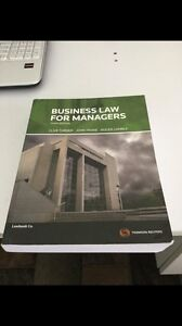 Business law for managers textbook 3rd ed Camp Hill Brisbane South East Preview