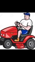 Have riding lawn mower, will travel.