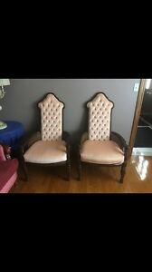 Antique Highback Chairs