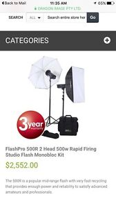 Photography set up for sale Gorokan Wyong Area Preview