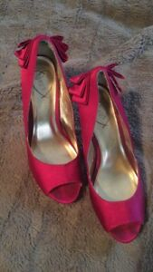 Two pairs of Size eight heels
