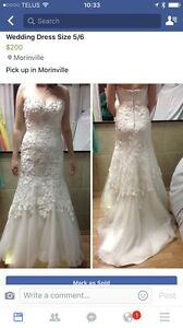 Size 5/6 Wedding Dress