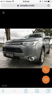 2013 Mitsubishi Outlander Aspire Ferntree Gully Knox Area Preview