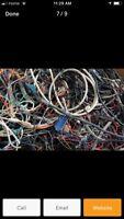 Scrap metal removal services