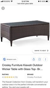 LOOKING FOR!!!! (Outdoor Wicker table !!)