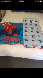 Spider-Man toddler sleeping bag