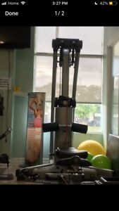 Life fitness home cable gym