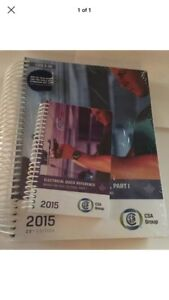 NEWWW!! 2015 Canadian Electrical code book 23rd edition
