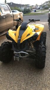 Looking to trade my can am renegade for a 4x4 truck