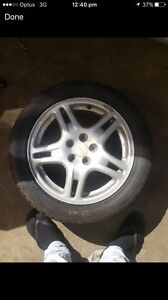 """5x100 16"""" Subaru wheels Woody Point Redcliffe Area Preview"""