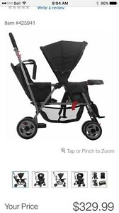 Joovy Stand and Ride Stroller and Extra Seat Bundle