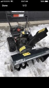 Snowblower / lawn tractor repairs 1-2 day service