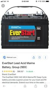 Looking for a marine battery
