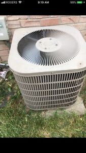 Goodman Central air condition. Very good working condition