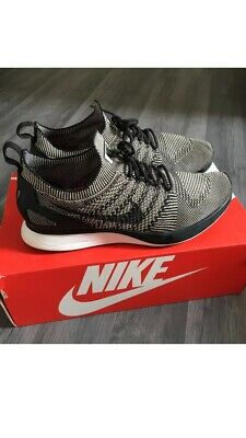 Nike Air Zoom Mariah Flyknit Racer Oreo Trainers Size UK 8