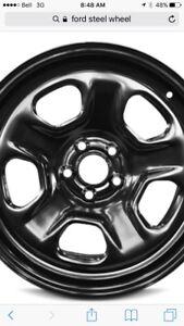 Ford Explorer winter wheels tire sensors