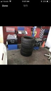 USED AND NEW SNOW AND ALL SEASON TIRES FORSALE
