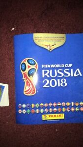 2018 panini World Cup stickers