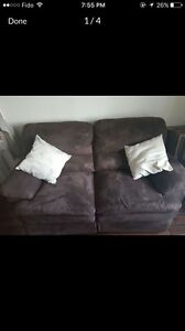 Reclining love seat. Great condition. Must go ASAP.