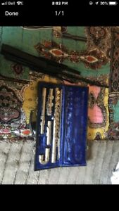 Flute (Armstrong) & music stand