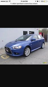 Looking for Mitsubishi Lancer ralliart sportback