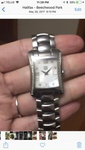 Esquire women's watch with diamonds