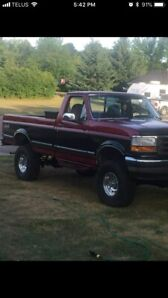 95 F-150 in mint shape with 95000km