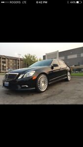 2010 MERCEDES E 350 4 MATIC AMG APPEARANCE PKG