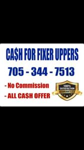 CASH FOR FIXER UPPERS AS IS